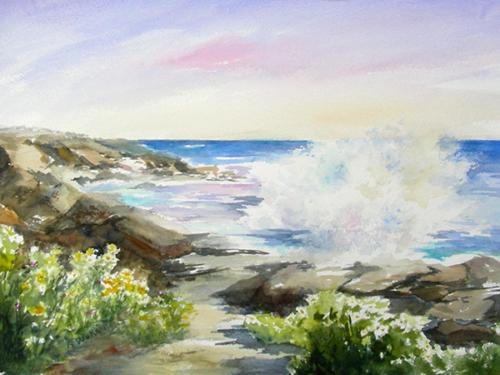ANN WORRALL - 'Cliff Walk'