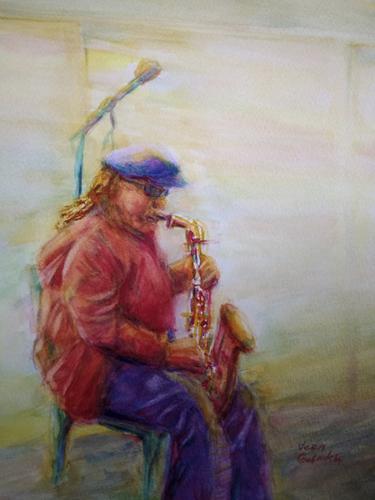 VERA GUBNITSKAIA - 'Lone Winter Blues'